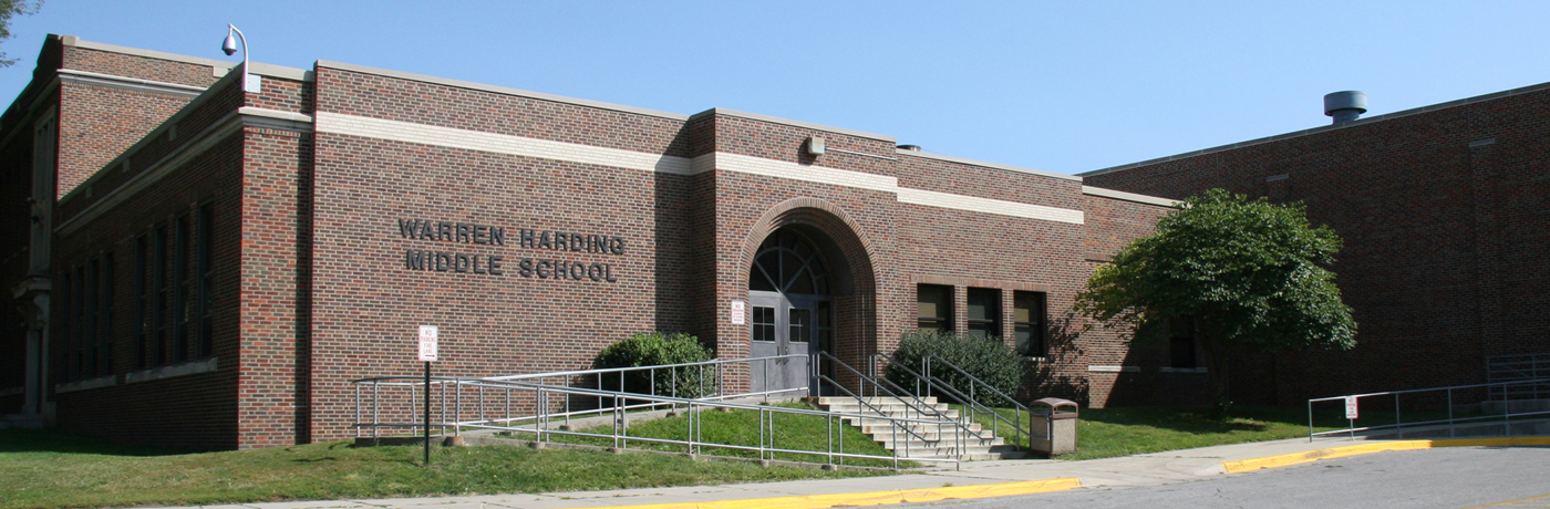 Harding Middle School Building