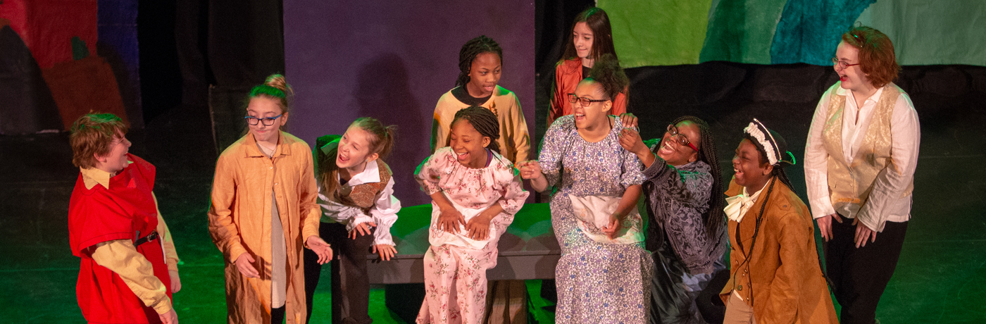Harding Middle School Students Performing Musical