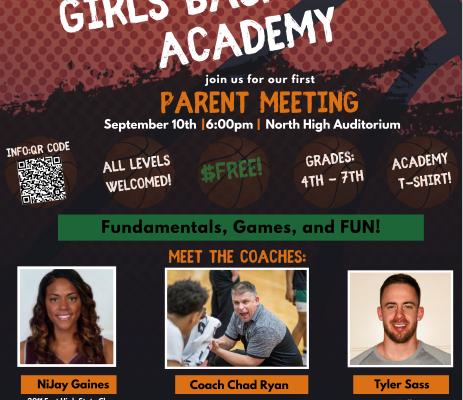 4th-7th Grade Girls Basketball Academy
