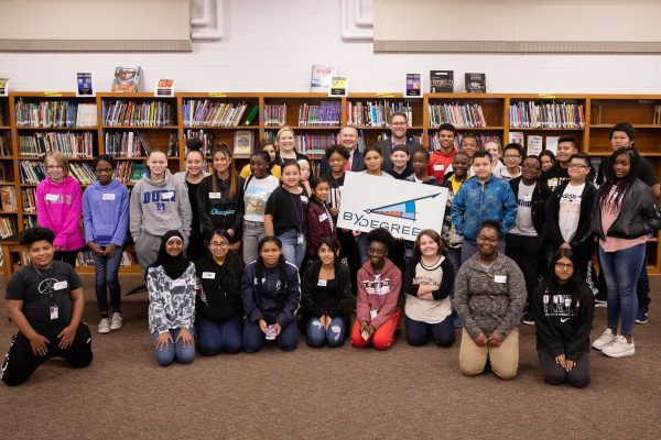 Harding Middle School Students Receive a Seed to Succeed