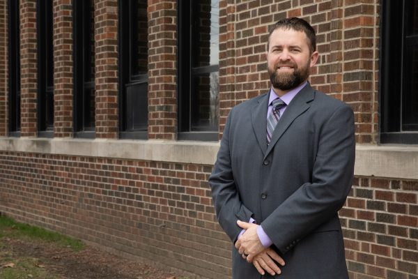 Harding Middle School Welcomes Principal Christopher Schmit